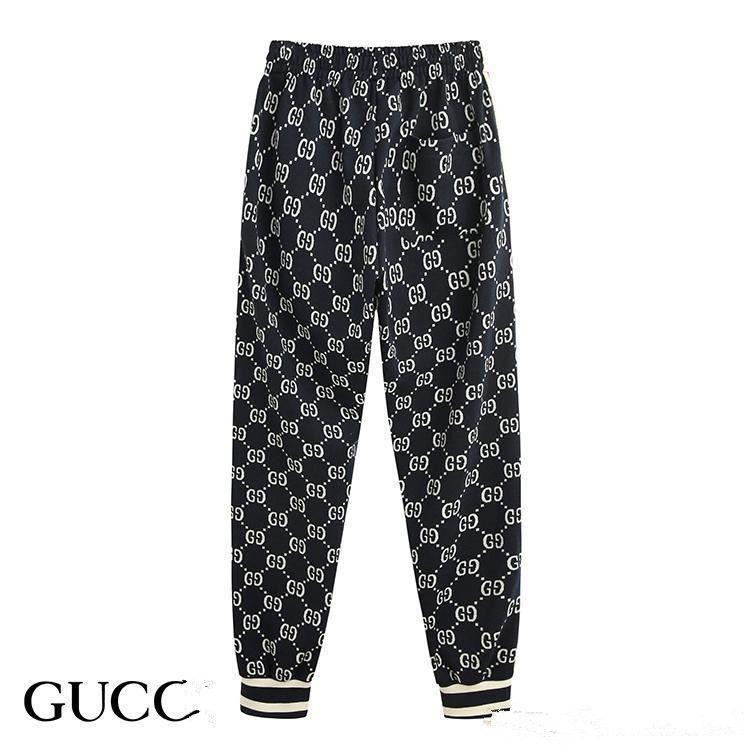 Gucci Tasche hococal yeni moda erkek spor giyim takım elbise beyzbol ceket erkek ve kadın çift spor pantolon takım elbise bayanlar lüks spor pantolon S-2XL fermuar