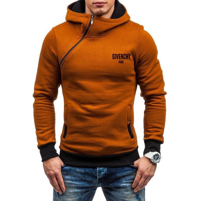 New Hot women men hooded fleece fashion Sweatshirts sweaters Hoodies pullover unisex hooded Side zipper coat ZGD20238