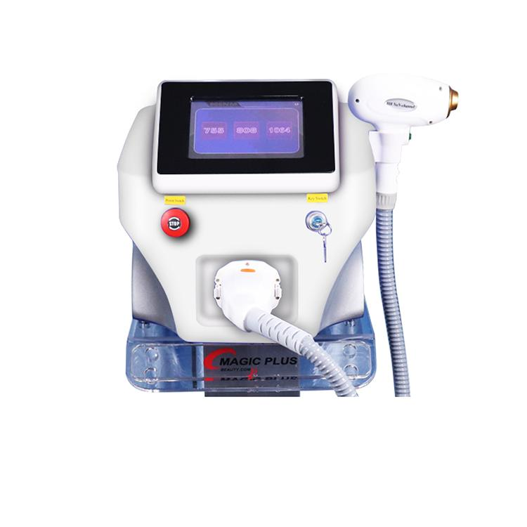 2020 Factory price Hair Removal 755nm/808nm/1064nm Diode Laser Home Laser Hair Removal Machine With Skin Rejuvenation Laser CE