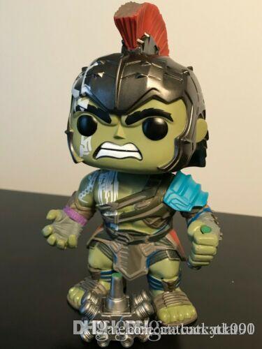 Sorte Funko Pop # 241 Hulk (Thor Ragnarok) Marca 10 centímetros Figura alvo exclusivo New presente