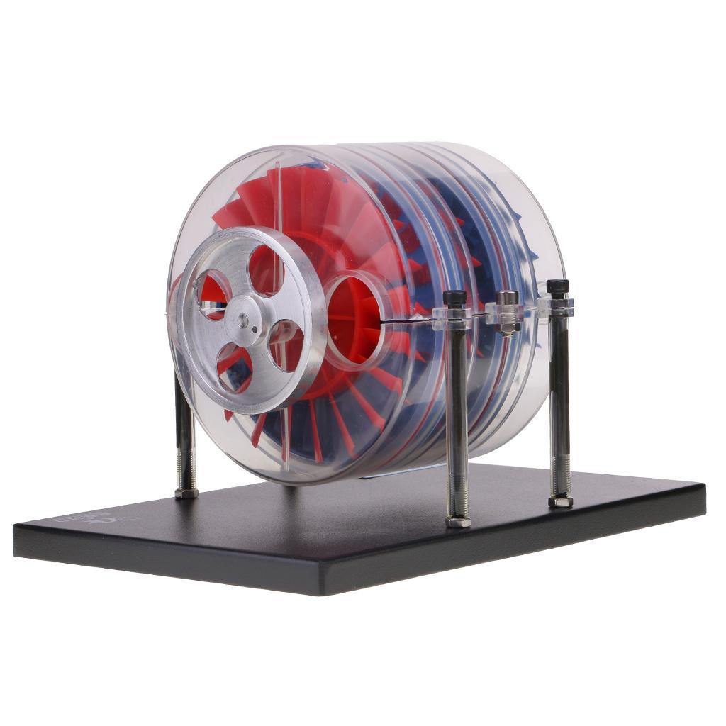 Multi-étages turbine à vapeur Modèle de laboratoire de démonstration Équipement jouet cadeau