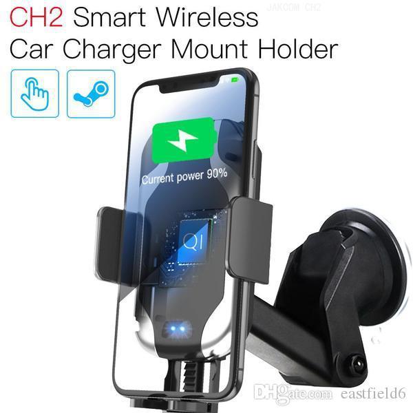 soporte coche movil x vido halka altın gibi Cep Telefonu Mounts Tutucular JAKCOM CH2 Akıllı Kablosuz Araç Şarj Montaj Tutucu Sıcak Satış