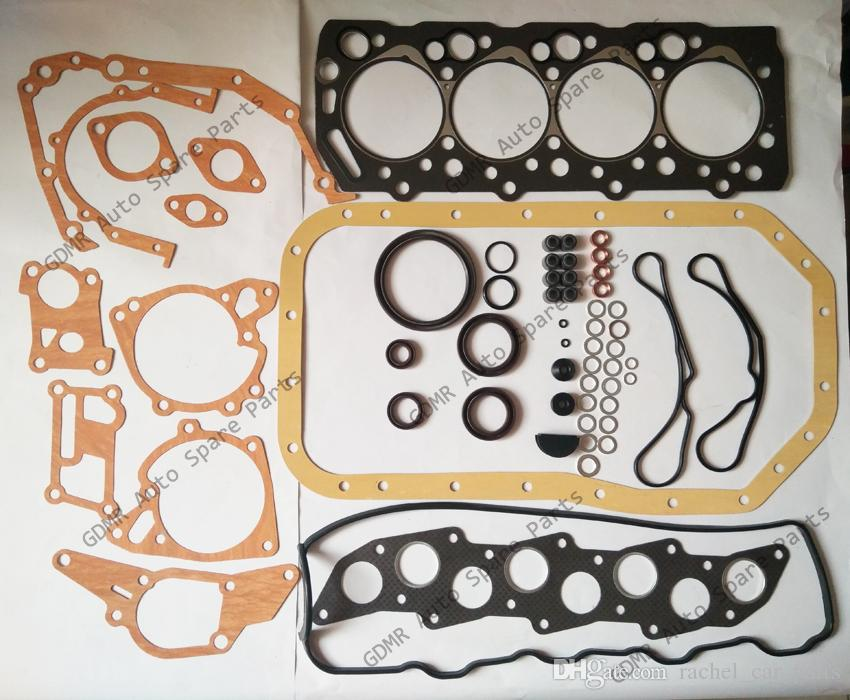 Motor parçaları 4D56 conta kiti tam yeniden oluşturma kitleri için MD997249 Mitsubishi Montero L200 L400 CANTER 2477CC 2.5TD 1986-2003