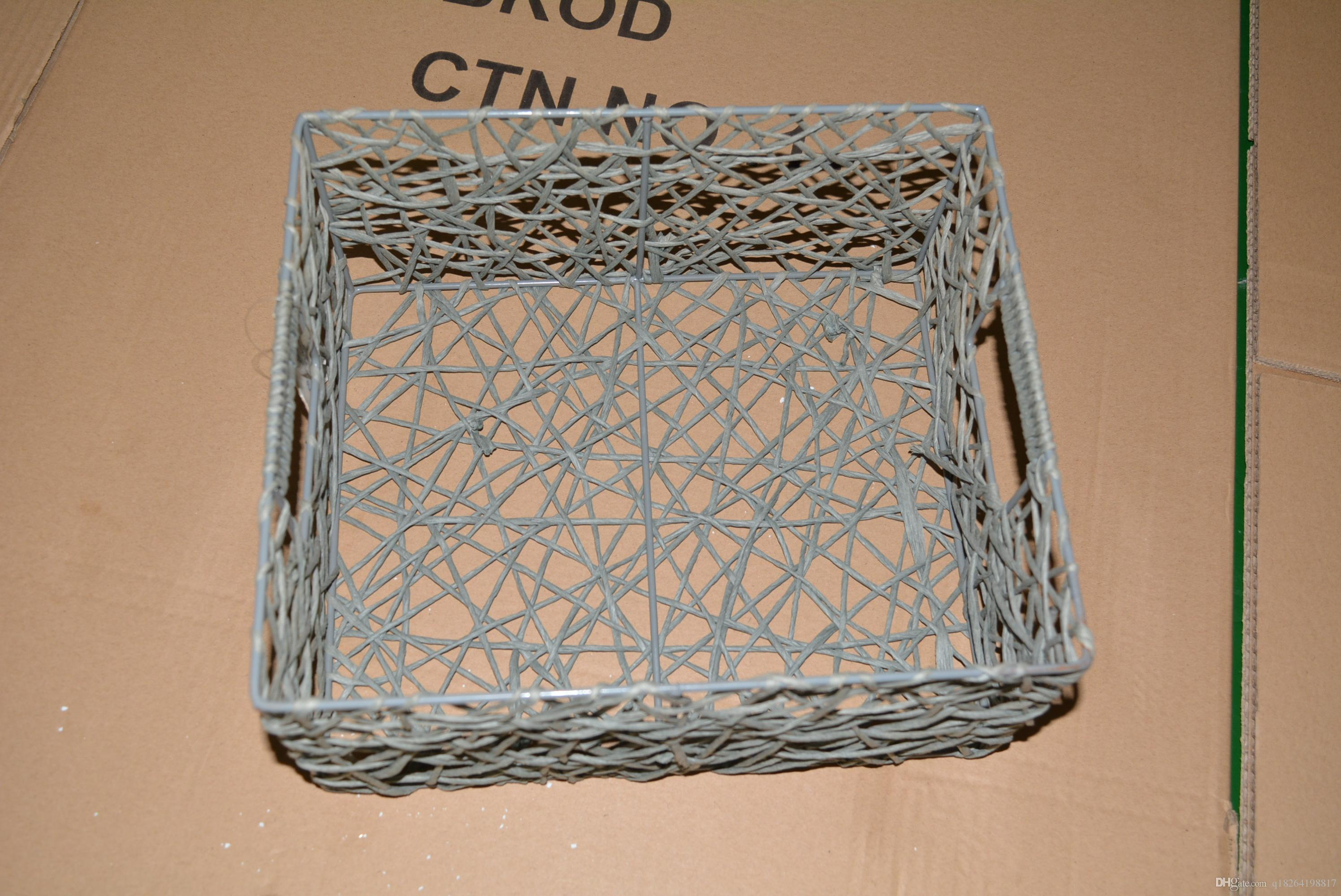 woven seagrass baskets with handles decorative storage boxes.htm 2019 gray storage baskets storage box put sundries made by  2019 gray storage baskets storage box