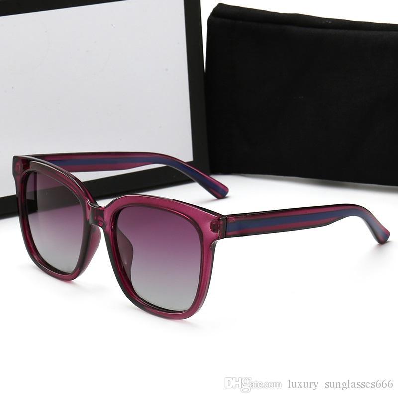 GUCCI 0034 Gafas de sol para hombre Gafas de sol de la vendimia UV400 Moda para hombre Sunglases polarizadas Retro gafas de sol polares de lujo Diseñador