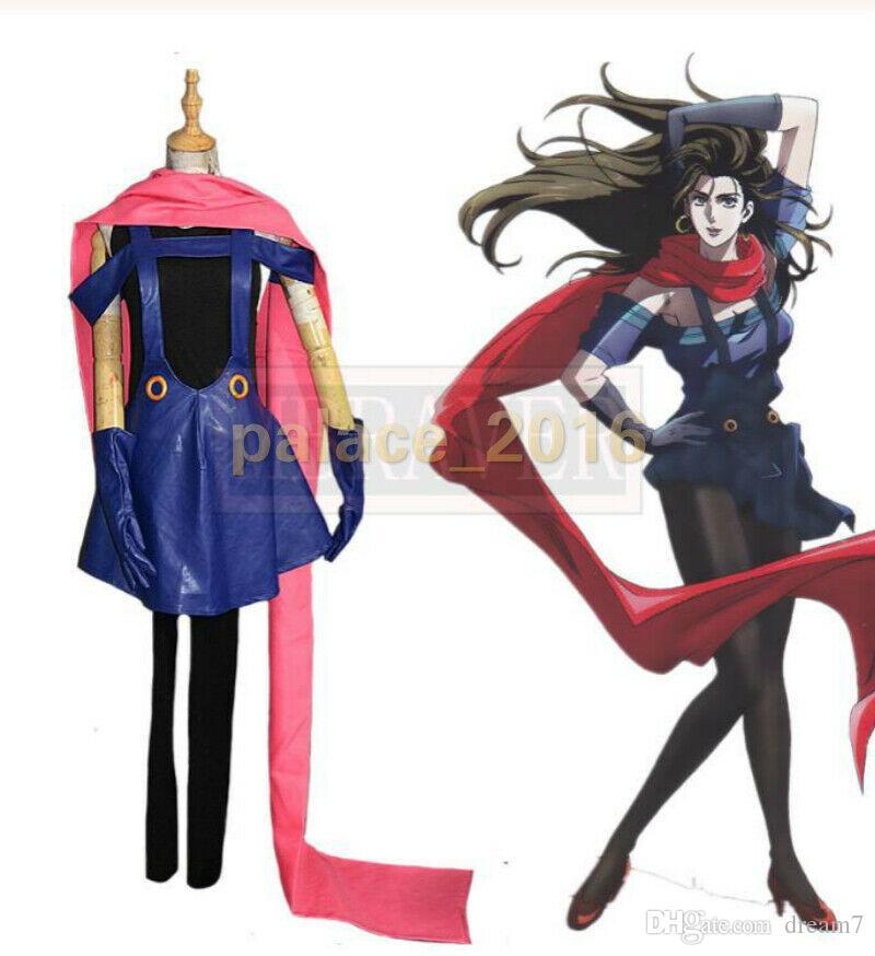 New JoJo/'s Bizarre Adventure LISA Cosplay Costume Halloween Costume Custom