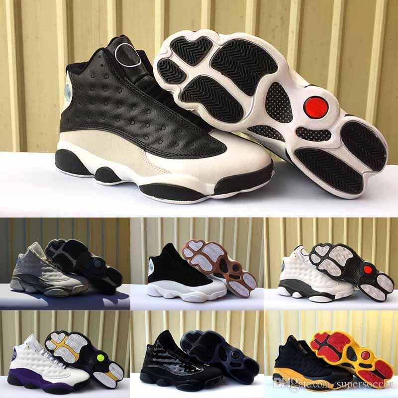 Frete grátis Atacado Barato NEW Hot sale Top Quality 13 mens tênis de basquete qualidade real tênis