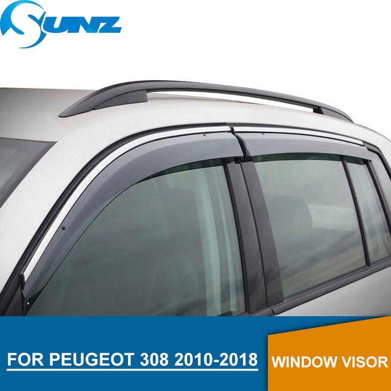 Finestra visiera per PEUGEOT 308 finestra laterale deflettori 2016-2018 guardie pioggia per PEUGEOT 308 2016-2018 sunz