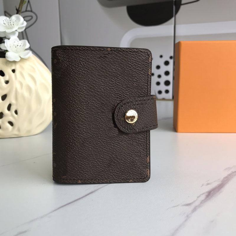 Piccolo portafoglio di Piccolo portafoglio Piccolo portafoglio in vera pelle con portafoglio in vera pelle da portafoglio Uomini e donne Banconota da donna 2020 Nuova moda Lettera di modo e portafogli in fiore