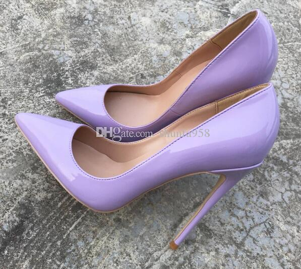 New Spring Autumn Fashion Light Purple