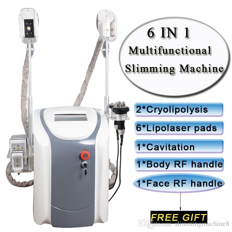 한 Cryolipolysis 지방 냉동 기계 lipolaser 개인적인 용도 냉동 요법 사러 레이저 초음파 공동 현상 RF 슬리밍 뷰티 기계