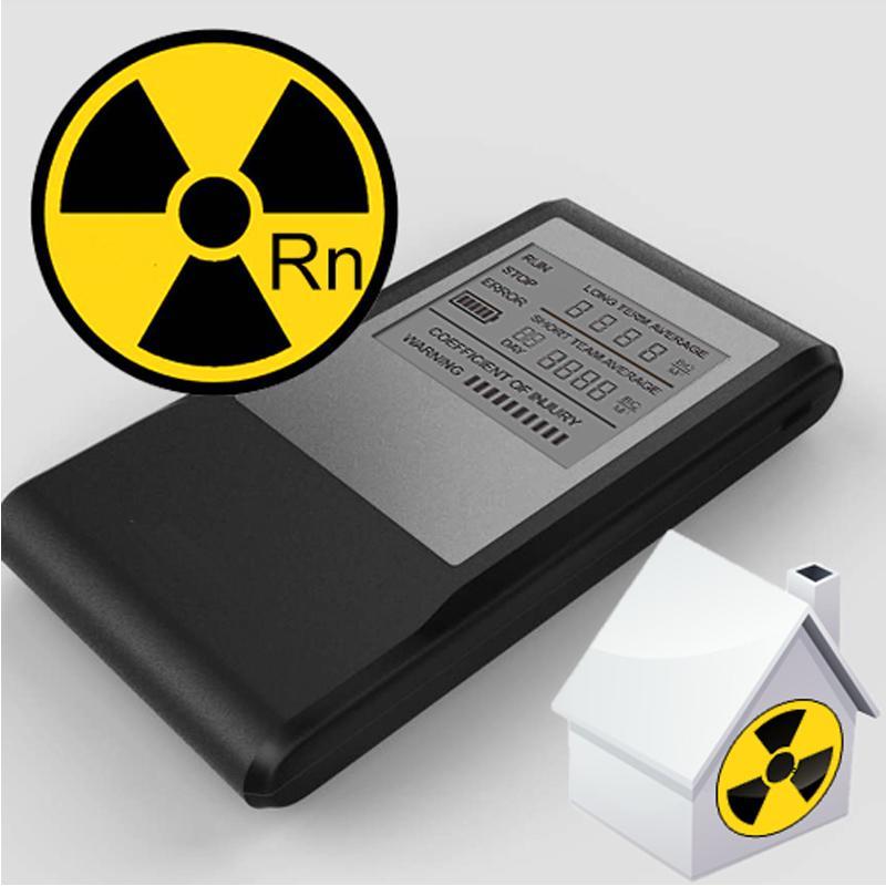 Monitoraggio dei livelli di test di mitigazione del radon per test di mitigazione del radon domestico portatile air ae steward con shippping libero