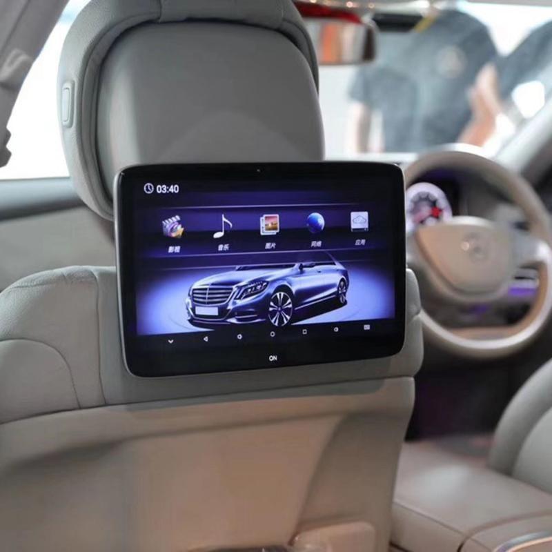 11.6 بوصة الروبوت 9.0 TV سيارة رئيس الراحة مع شاشة ل- GLC كوبيه دعم واي فاي / HD / الشاشات التي تعمل باللمس / بلوتوث / FM / ألعاب