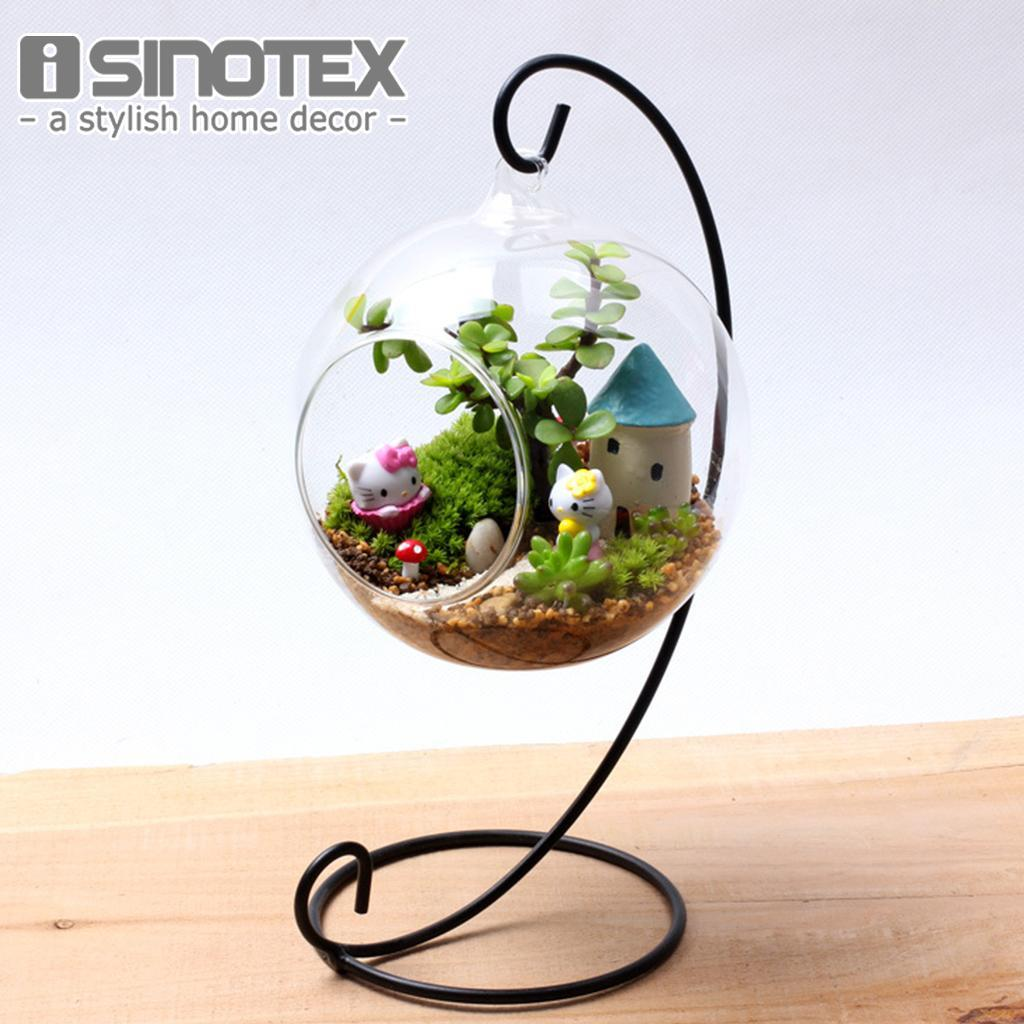 Hanging Glass Vase Hanging Terrarium Hydroponic Container Vase Home Decor