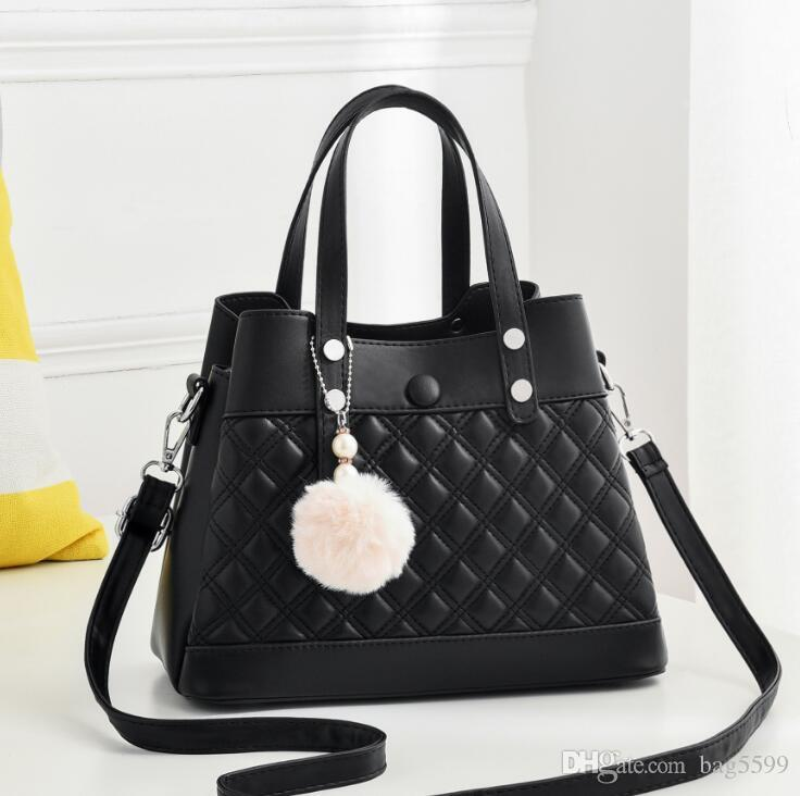 HBP New European and American big bag shoulder simple women bag fashion diagonal bag