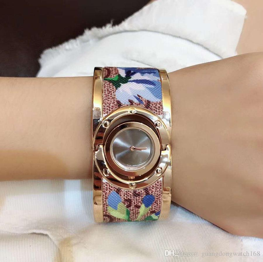New Classic Famous Elegant Ladies Watch Imported Quartz Watch 30MM Sapphire Glass 316 Stainless Steel Gold Personality Strap GC Ladies Watch