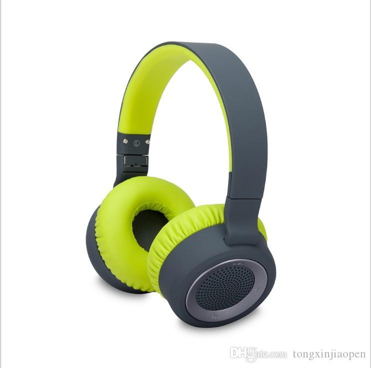 공장 직접 스테레오 무선 헤드폰 내장 마이크, PC 휴대 전화 블루 블루투스 헤드셋, 무료 쇼핑