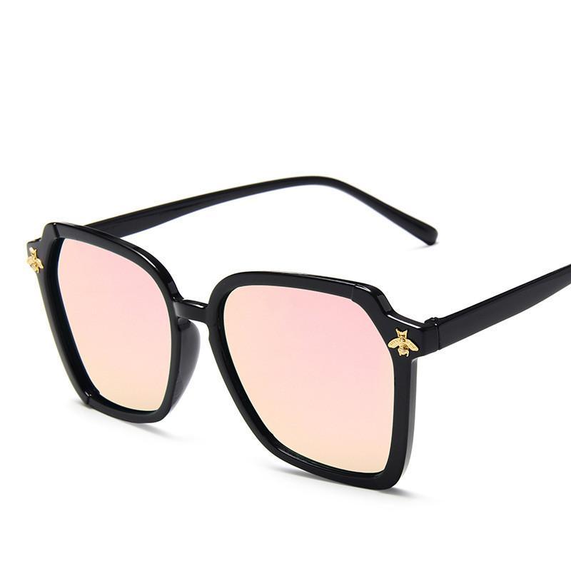 2020 Марк Крупногабаритной тенденции очки ретро дикий пчелка очки простого люкс Gradient UV400