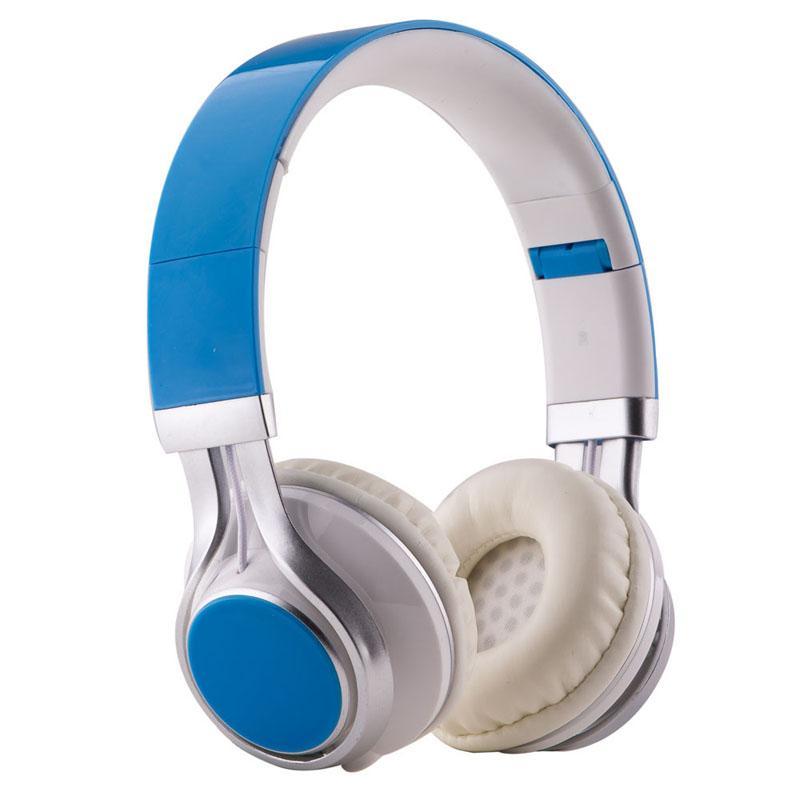 EP16 conexión de cable del auricular de diadema Auriculares estéreo de auriculares de 3,5 mm plegable con el micrófono para PC del videojuego de ordenador