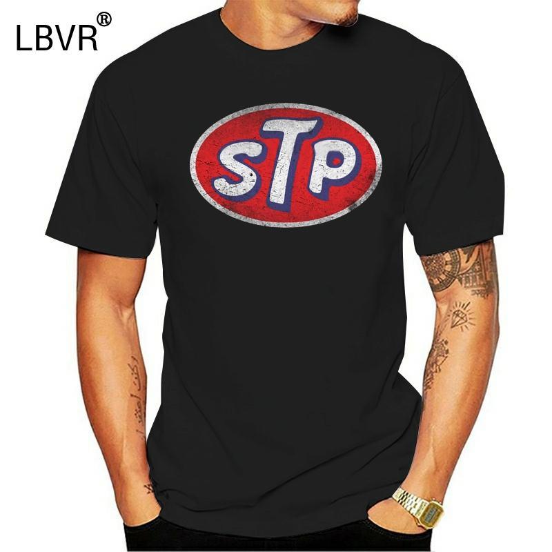 Designing Moda mais novo camiseta Homens Vintage Stp T-shirt original Men Rodada Primavera Outono Pescoço Roupa regular Camiseta Top Quality