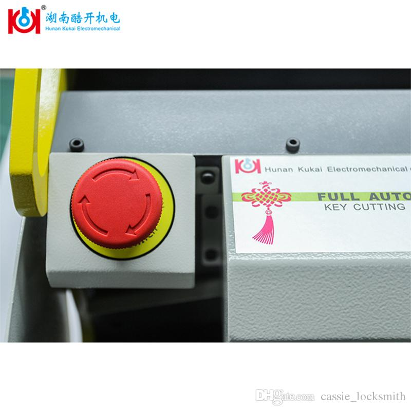 Kukai China Cheapest English Version SEC-E9 Widely Used Car Key Cutting Machine With Best After Service 2019 New