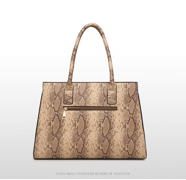 Snake Damies Trend Летняя мода сумка сумка дизайн новых оптовых узор на плечо сумка дизайнерские дамы PU 2019 CERPW