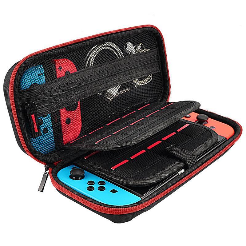 Хранение сумка для Nintendo консоли коммутатора Ручной переключатель для переноски Держатели Случай 19 карточной игры Чехол для Nintendo Переключатель