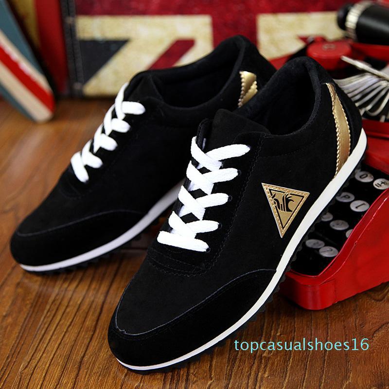 TRAANO Tuval Erkekler Denim Dantel-up Erkekler Casual Ayakkabı Yeni plimsolls Nefes Erkek Ayakkabı İlkbahar Sonbahar Sneakers t16 Ayakkabı