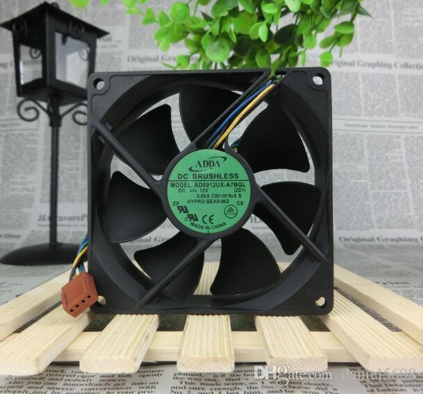 ADDA 9025 9CM 12V 0.50A AD0912UX-A7BGL 90*90*25mm 4Pin fans