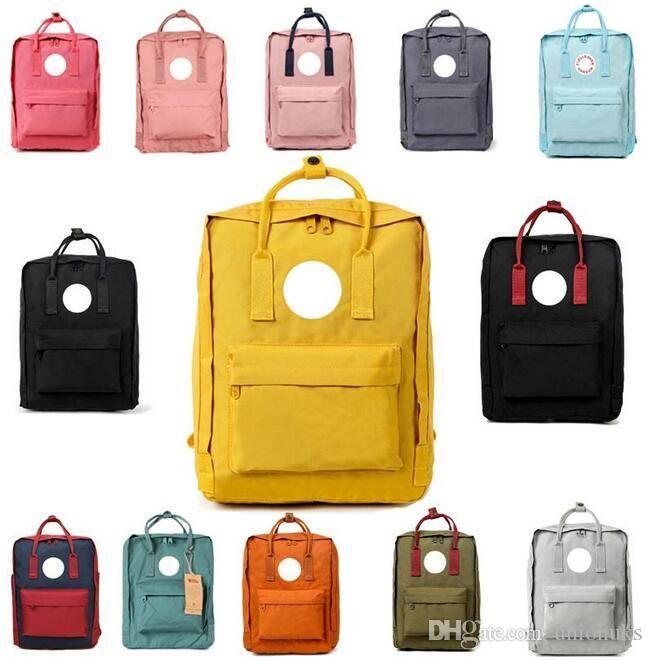 الأصلية السويدية الجديدة القطب الشمالي فوكس للماء الظهر الرجال النساء الأطفال FASHIONAL فاخرة مدرسة التصميم حقيبة قماش حقيبة الظهر العلامة التجارية الرياضة حقائب تحمل على الظهر