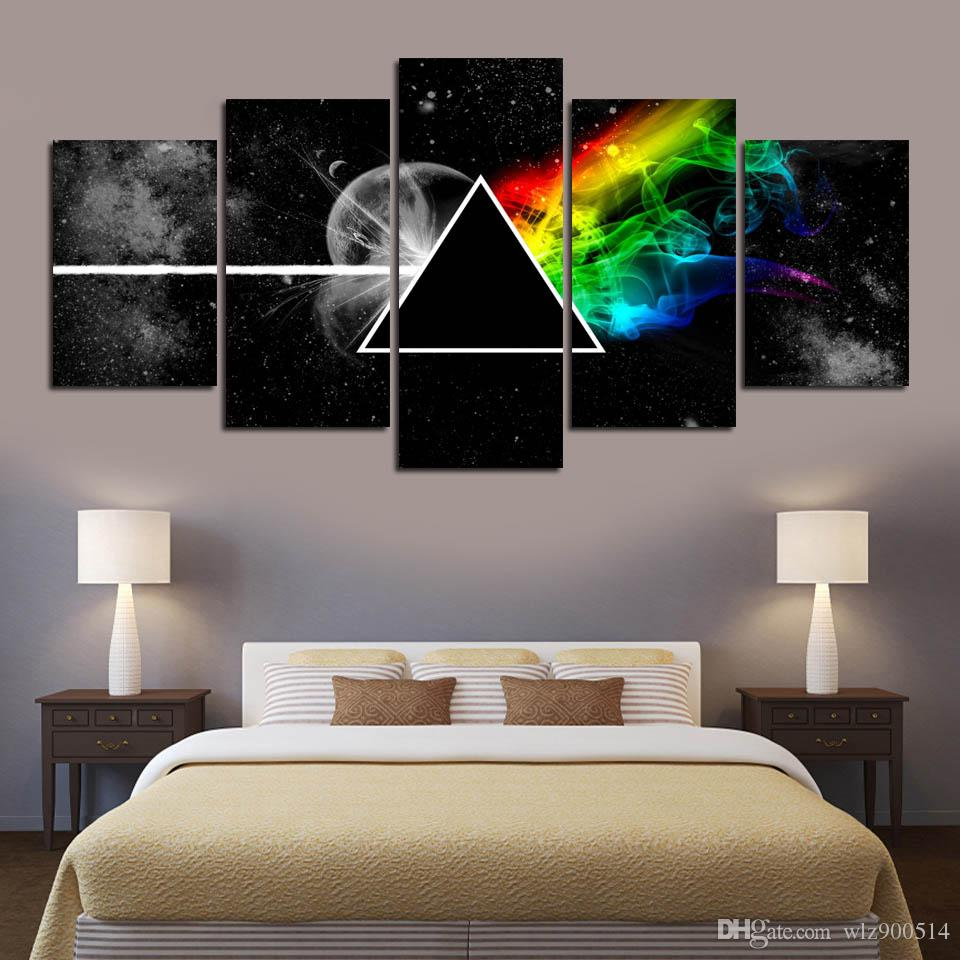 Music Art Painting Canvas Print 5 Piece Picture Modern Bedroom Home Living Room Wall Decoration No Frame
