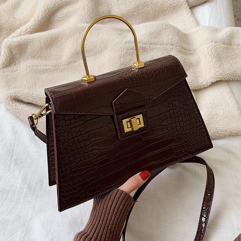 Kadınlar 2020 Deri Çanta Sling Sac A Ana Bayan El Omuz Messenger Bag İçin Kadın Crossbody Bez Çantalar