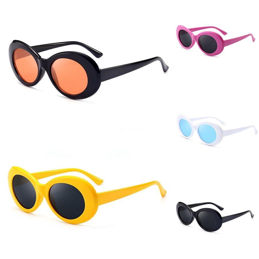 Cateye Sunglass Matt Negro hombres de las mujeres del gato de los ojos de plástico Hiphop Sunglasee Mujer Gafas de poder suficiente Uv400G # 36930