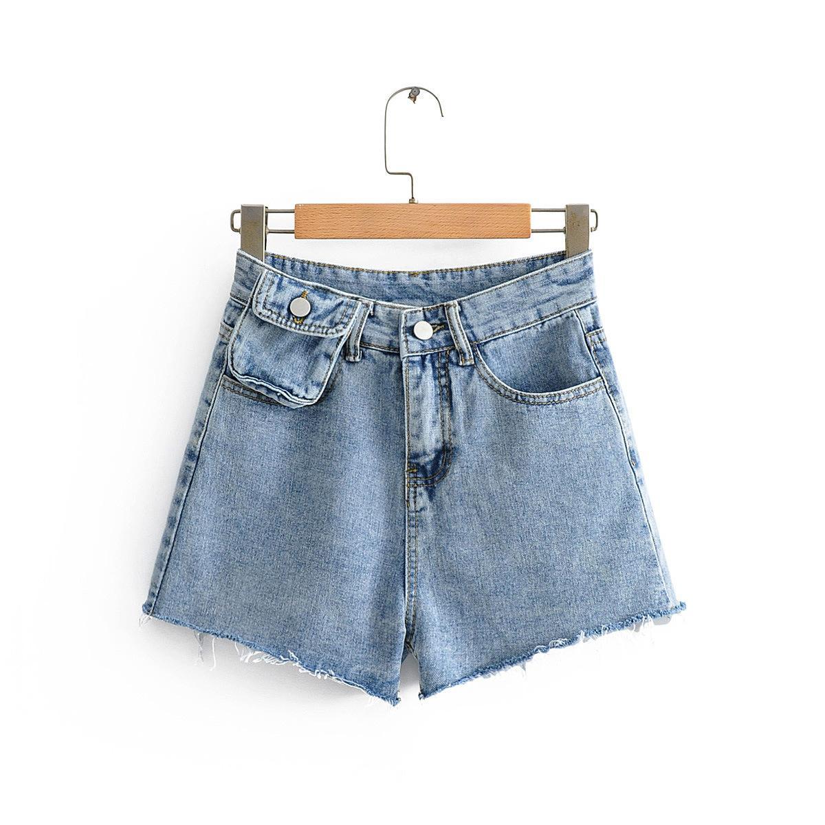 Femmes d'été Denim Jeans Shorts 2020 New Fashion Design Pack taille haute taille Denim Shorts Femme Sexy Shorts Pantalons Nightclub Pantalons Hot