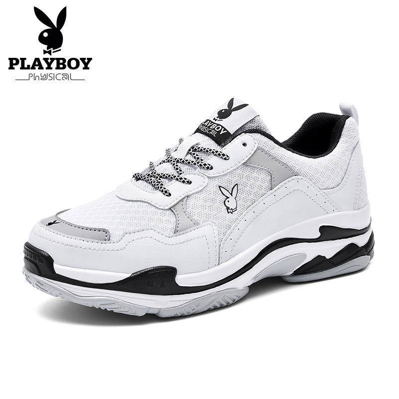 PLAYBOY 2018 vendita calda di estate in barca scarpe scarpe casual scarpe da tennis Mesh traspirante fannulloni delle donne comode molli Lace-Up Shoes