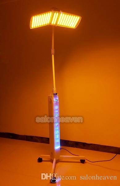 PDT LED Luminothérapie Machine visage 7 couleurs PDT LED thérapie Photon LED Rajeunissement de la peau L'acné Beauté Suppression Lampe Anti Aging Spa
