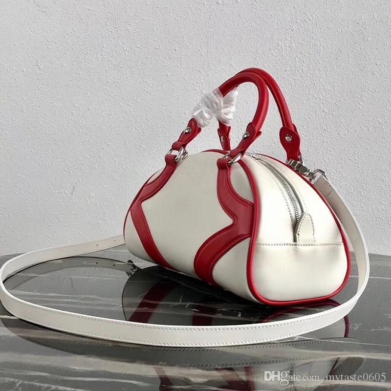 Regalo del bolso 27CM piel de becerro remiendo Corssbody para la Mujer