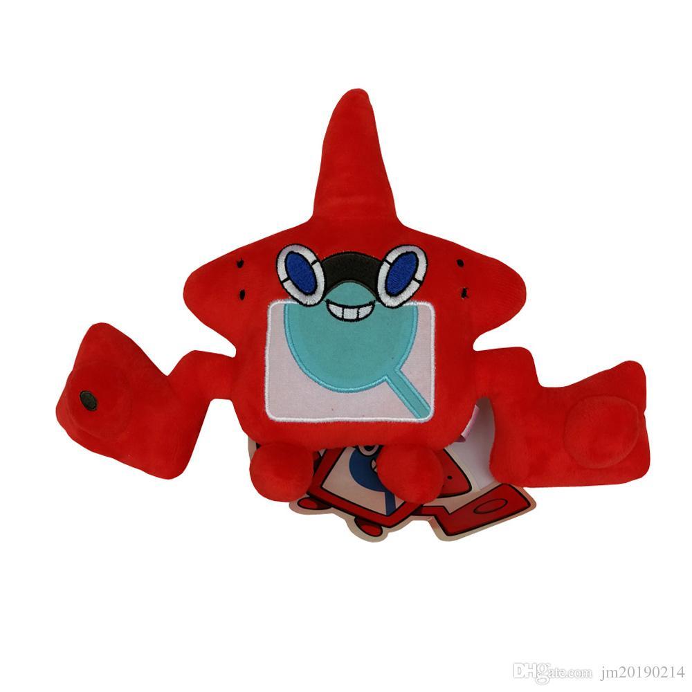 New Toy Rotom Soft-Puppe-Plüsch-Spielzeug für Kinder Weihnachten Halloween beste Geschenke 8INCH 20cm