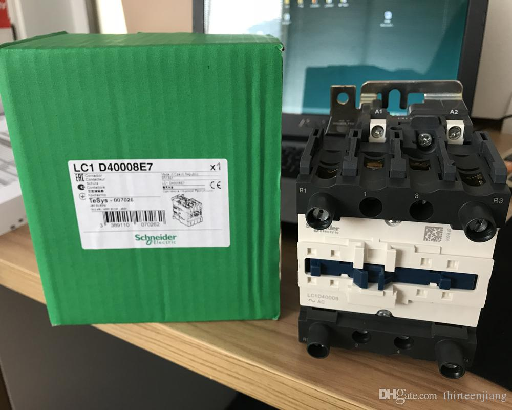Original New Schneider Contactor LC1D40008E7 LC1D40008M7 LC1D40008F7 Please Tell Us the Specifications You need Before Payment.