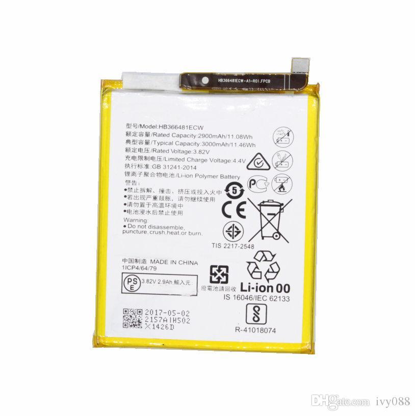 1X 3000mAh وHB366481ECW البطارية لهواوي P10 لايت / P20 لايت P الذكية 5.6 لنوفا لايت G10 WAS-TL10 WAS-AL00 WAS-LX1 WAS-LX1A WAS-LX