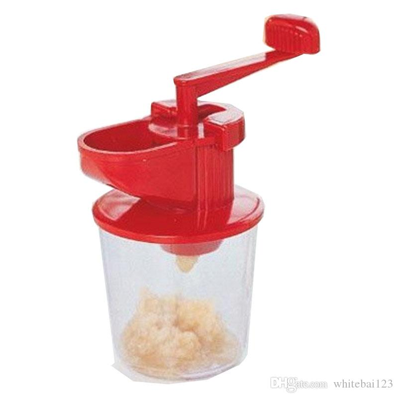 FREE SHIPPING Wholesale Creative Home High-quality Colorful Boxed Multi-purpose Garlic Mixer Ginger Garlic Machine Food Processing Grinder