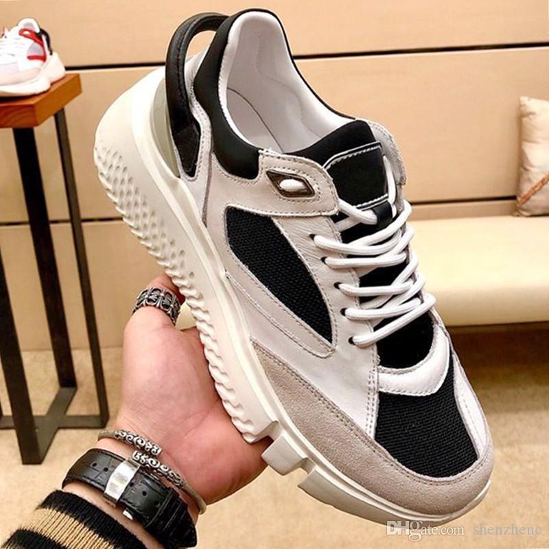 Veloce Spor erkek Ayakkabıları Popüler yüksek Kaliteli Sonbahar ve Kış Açık Yürüyüş Düşük Üst Bağbozumu Bırak Gemi Spor Ayakkabı Footwears