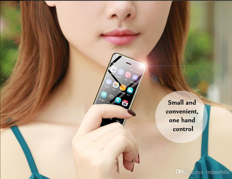"""China Original ulcool 4G LTE smartphone 3GB+32GB 8MP unlocked goodphones Google Play 3.2"""" mini telephone mobile phones androids for students"""