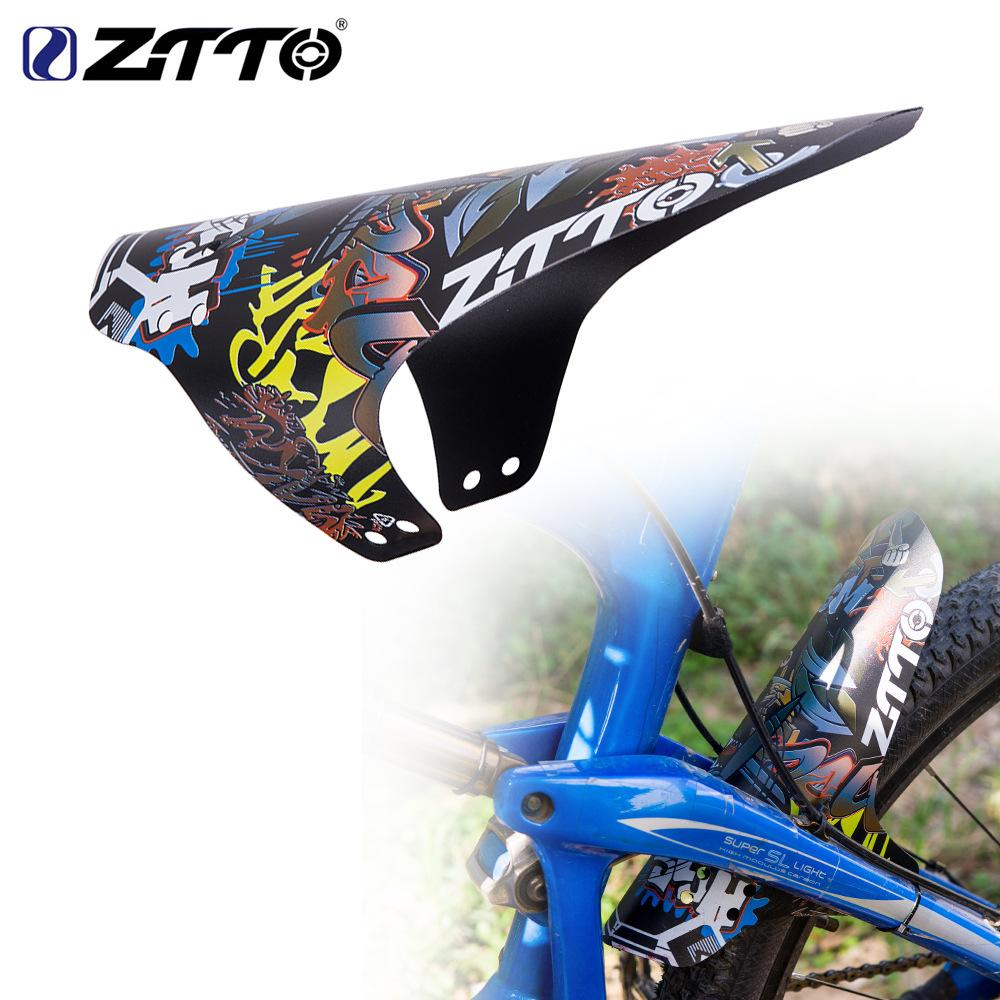 MTB Parafango biciclette Fender leggero Spedizione durevole Bike Fit for Fronte Retro Fender breve Parafanghi libero
