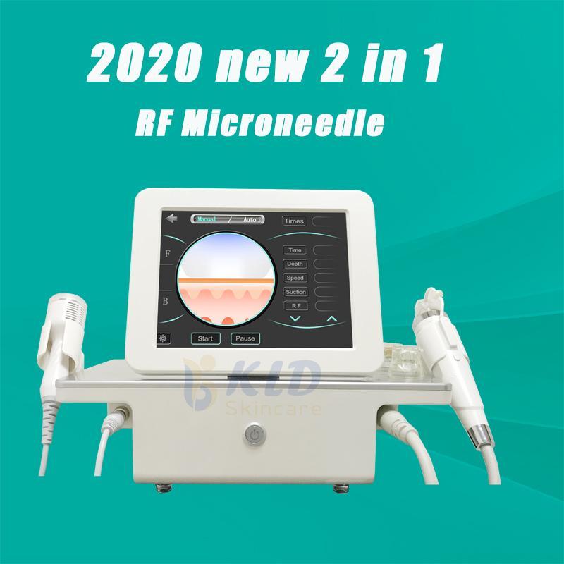 100% положительная обратная связь Microneedleing RF Microneedle лицевой прибор красотки удаление меток простирания обработка морщинки 4 вида микро-подсказки иглы