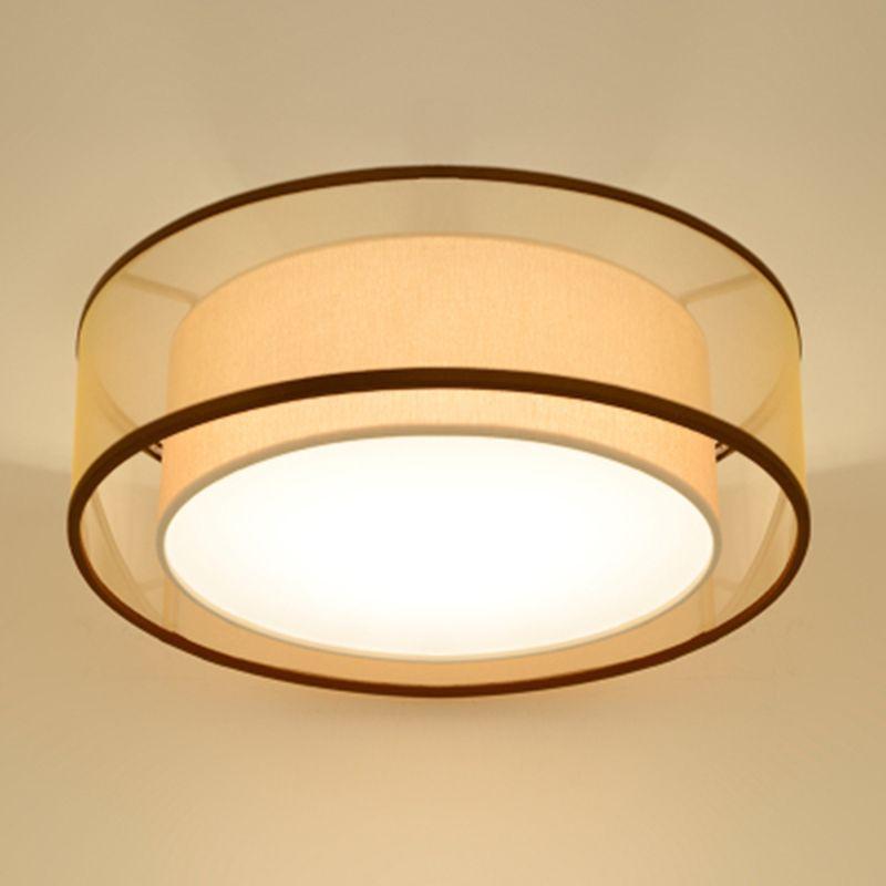 중국 패브릭 천장 램프 라운드 D80cm 천장 조명 클래식 천 레트로 홈 조명 AL052 다이닝 룸 홈 침실 생활