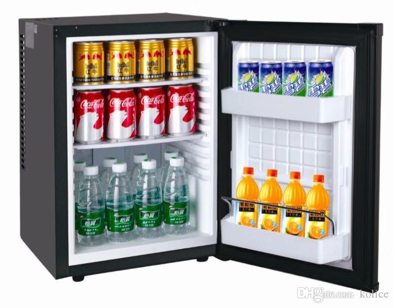 Mini kompakt buzdolabı, mini dondurucu, otel minibar, mini buzdolabı 1.4 metreküp, siyah