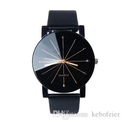 Новая мода девушка кожаный ремень повседневные часы 30 мм женские часы 38 мм часы мужские электронные часы оптом Азии могут быть настроены