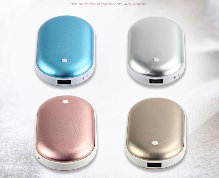 AOOKEY Calentador de Mano USB Recargable 5200mAh Powerbank Bater/ía Calentador de Manos Electrico,Calentadores de Manos Bolsillo USB,Calentador de Mano El/éctrico de Reutilizable