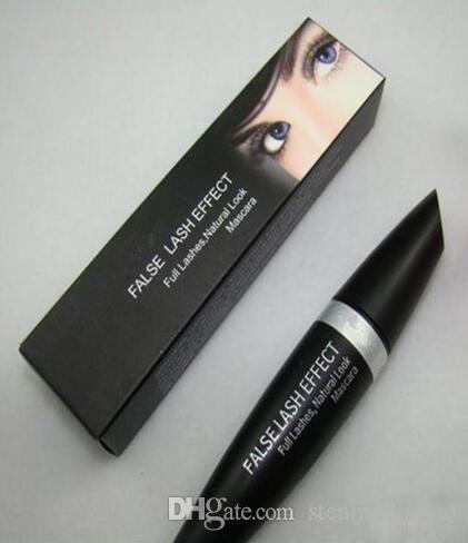 Frete grátis Enviar RHL Maquiagem Mascara Falso Lash efeito completo cílios naturais rímel preto